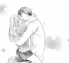 Anime Couples Drawings, Anime Couples Manga, Couple Drawings, Anime Couple Kiss, Manga Couple, Manga Love, Manga Girl, Manga Anime, Romantic Anime Couples