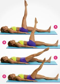 Challenge your core with this ab-strengthening Pilates move--and 8 more awesome exercises that help flatten your stomach: http://www.womenshealthmag.com/fitness/pilates-abs?cm_mmc=Pinterest-_-womenshealth-_-content-fitness-_-9pilatesmovesforflatterabs