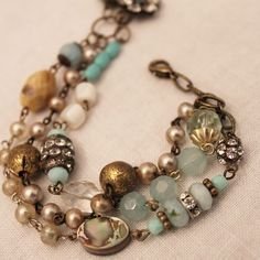 .Another bracelet from Bev Wright.....she is so good.