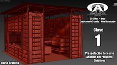 Curso 3Ds Max + VRay - Creación de Stands - Clase 01 - Presentación/Anál... 3ds Max Vray, Outdoor Decor, Home Decor, Move Forward, The Creation, Tutorials, Decoration Home, Room Decor, Home Interior Design