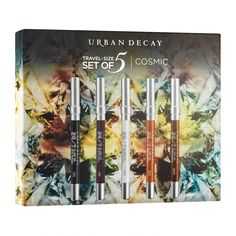 Even when you're on the go, you need options. This Urban Decay 24/7 Travel Size Pencil Set delivers — with 24/7 Glide-On Eye Pencils in edgy neutrals. But don't wait on it; this...