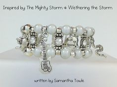 Book Inspired Stretch Charm Bracelet Inspired by The Mighty Store by Samantha Towle by BookInspiredJewelry, $27.99