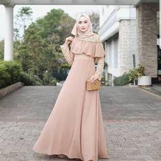 Dress Brokat Muslim, Dress Brokat Modern, Kebaya Modern Dress, Kebaya Dress, Dress Brukat, The Dress, Dress Outfits, Dress Muslim Modern, Muslimah Clothing