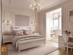 Фото дизайн детской комнаты из проекта «Дизайн интерьера четырехкомнатной квартиры в классическом стиле, 204 кв.м.»