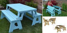convertible-picnic-table-bench