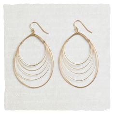 Earrings - Whirling Wire Earrings