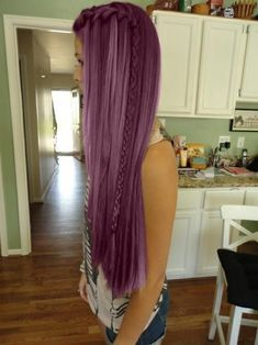 Endless Madhouse!: Wonderful Shades of Purple Hair!!!