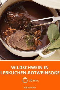 Wildschwein in Lebkuchen-Rotweinsoße - smarter - Zeit: 30 Min. | eatsmarter.de