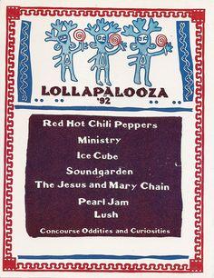 Lollapalooza 1992 | Reston, VA | Red Hot Chili Peppershttp://favoriteconcert.com/lollapalooza-081492/