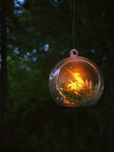 Firefly Globes flameless DIY party decor