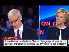 Democratic Presidential Debate, Full CNN 2015, Hillary Clinton, Bernie Sanders, Democrat debate - YouTube