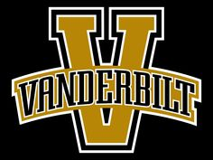 Vanderbilt Commodores Primary Logo on Chris Creamer's Sports Logos Page - SportsLogos. A virtual museum of sports logos, uniforms and historical items. Currently over on display for your viewing pleasure Vanderbilt Football, Vanderbilt University, Nhl, Just Blinds, Vanderbilt Commodores, Sports Team Logos, Sports Art, Missouri Tigers, Girl And Dog