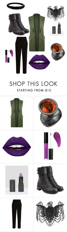 """The fierce catch."" by lalaruna00cosmica ❤ liked on Polyvore featuring beauty, WearAll, Michael Barin, LunatiCK Cosmetic Labs, Mia Bellezza, Illamasqua, Philosophy di Lorenzo Serafini, The Row, Steve Madden and Alexis Bittar"