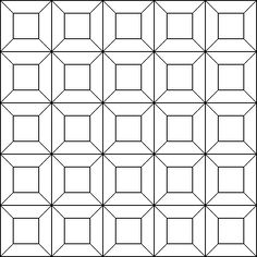 Index --- grids --- squares (examples) --- triangles (examples) --- Escher-style (examples) --- for teachers    Triangles, squares and hexagons are the only regular shapes which tessellate by themselves. You can have other tessellations of regular shapes if you use more than one type of shape. You can even tessellate pentagons, but they won't be regular ones. Tessellations can be used for tile patterns or in patchwork quilts!  Single regular shapes Triangles  Squares  Hexagons  Large grid…