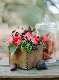 box vase. Like the idea not this box