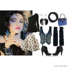 Madonna 80s Fashion Pictures ANDREIA MARQUES FASHION
