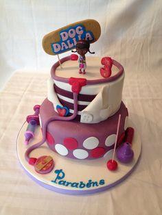 Doc mc stuffins cake Bolo Doutora Brinquedos