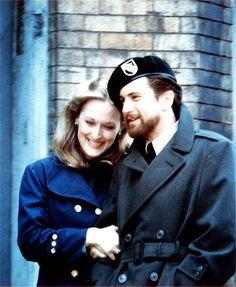 """With Robert De Niro in """"The Deer Hunter"""" (1978)"""