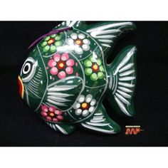 Wall Art Decor Folk Art/ MEXICO Pottery [Vibrant Hand Painted Colors