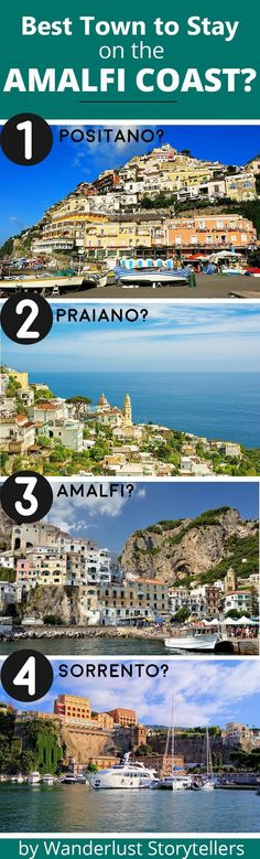 Wondering which is the best town to stay at on the Amalfi Coast? Click to read our guide that contains a comparison table as well as helpful points to help you choose. >>>>>>>>>>>>>>>>>>>>>>>>>>>> Amalfi Coast Italy | Amalfi Coast Positano | Amalfi Coast Praiano | Where to Stay Amalfi Coast | Best Amalfi Coast Town | Amalfi Coast Sorrento | Amalfi Coast Travel | Amalfi Coast Guide