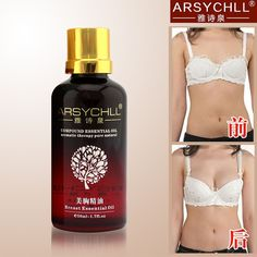 2pcs Natural Fast Powerful Breast Enhancement Essential Oils Breast Augmentation Skin Whitening Bust Cream Must Up Product