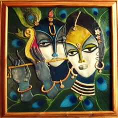 Radha Krishna By KINI – hastashilp