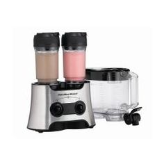 @Overstock.com - Hamilton Beach Dual Wave Versatile Blender - The Dual Wave blender is the ultimate in versatility. Use it to blend one or two portable drinks whenever you want. When it's time to entertain, you can blend a whole pitcher of party drinks in less than 30 seconds.  http://www.overstock.com/Home-Garden/Hamilton-Beach-Dual-Wave-Versatile-Blender/5995360/product.html?CID=214117 $58.99
