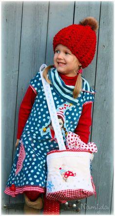 Dress & bucket purse!