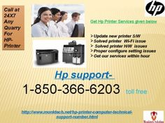 To be bluntly honest, you really need to employ the HP Printer Driver maestros by getting on your phone and then moving your fingers down on your telephone keypad and then ring up the number 1-850-366-6203 and then get some HP Printer maestros on your phone to avail a wide range of HP printing services over the phone but if you are unsatisfied with the consultative services then you need to opted for the higher level services like can be available on the remote servicing mode. And much…