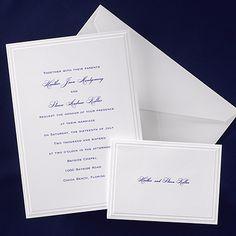 Modern Elegance Invitation Link Http Www Occasionsinprint Simple Wedding