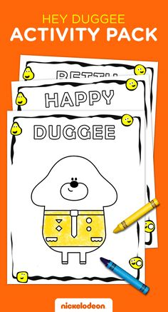 This Hey Duggee activity pack will have your kid busy for hours coloring, connecting the dots and more! Third Birthday, 3rd Birthday Parties, Baby Birthday, Birthday Ideas, Birthday Activities, Infant Activities, Activities For Kids, Unicorn Wedding, Birthday Party Planner