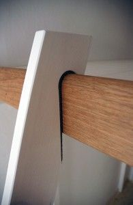 bunk bed ladder brackets | ladder for the ladder cut two 2x4s 64