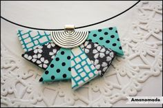 Collar realizado por Amanomade