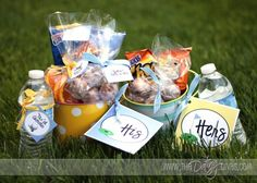 golf goodies gift - DIY Gift by The Dating Divas