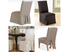 Superieur High Back Chair Slipcovers