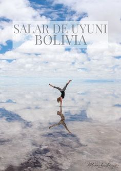 Discovering the magic of Bolivia in the Salar de Uyuni, the world's largest salt flat.  During the rainy season, it transforms into a giant mirror | The Mochilera Diaries #travel #SouthAmerica #bucketlist