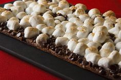 Awesome S'mores flatbread