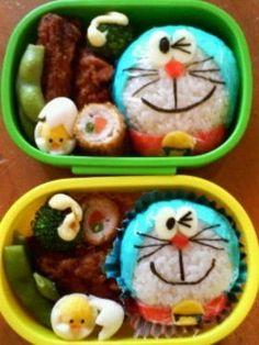 Cute Doraemon Bento