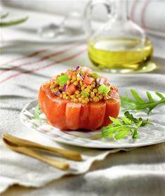 Pasta Pollo, Cantaloupe, Fruit, Health, Food, Queso Mozzarella, Tortilla, Tapas, Fitness