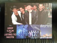 On Canvas NKOTB <3