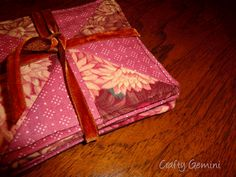 Quilted Coasters Free Pattern | in a happy mood today because two of my tutorials were featured ...