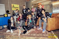 """NCT 127 dropped their first set of concept photos for their March 6 comeback with """"NCT Neo Zone"""". The members styling and the overall concept are like a throwback to the but none of the members look out of place! Winwin, Mnet Asian Music Awards, Mark Lee, Jason Derulo, Album Nct, K Pop, Nct 127 Members, Nct 127 Mark, Nct 127 Johnny"""