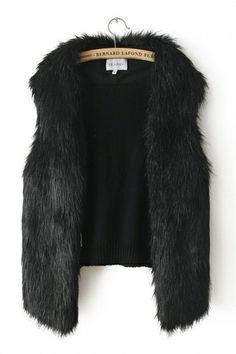 fur vest on sale.... Don't mind if I do