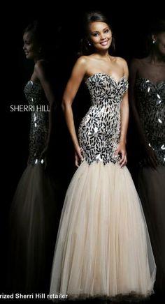 Sherri Hill Dress 21285 | Terry Costa Dallas www.terrycosta.com #prom2014 #promdresses #terrycosta @Sherri Levek Hill