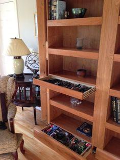 70+ cool hidden gun storage furniture ideas (45)