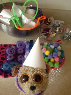 Ready to decorate my party hat!