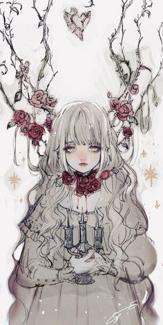 Image about babes in Manga/Anime 💞 😍💞 by Justine Corinne Art And Illustration, Illustrations, Kunst Inspo, Art Inspo, Fantasy Kunst, Fantasy Art, Anime Art Girl, Manga Art, Anime Girl Crying