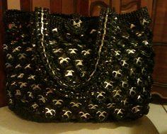 Crochet bag original design by M D