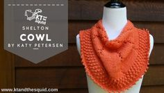 Shelton Cowl Free Knit Pattern | KT and the Squid