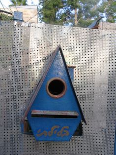 Birdhouse/Mailbox in Ein Kerem Birdhouses, Mailbox, Israel, Home And Garden, Homes, Outdoor Decor, Nature, Home Decor, Mail Drop Box